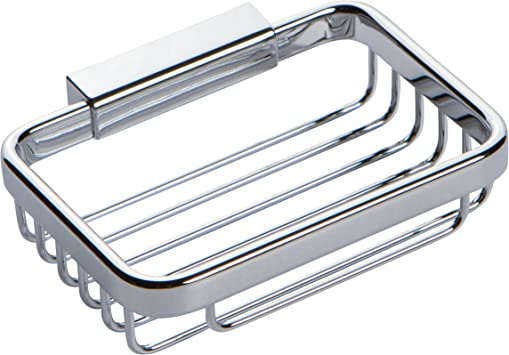 Ginger 550G//PC Hotelier Collection Soap Basket in Polished Chrome