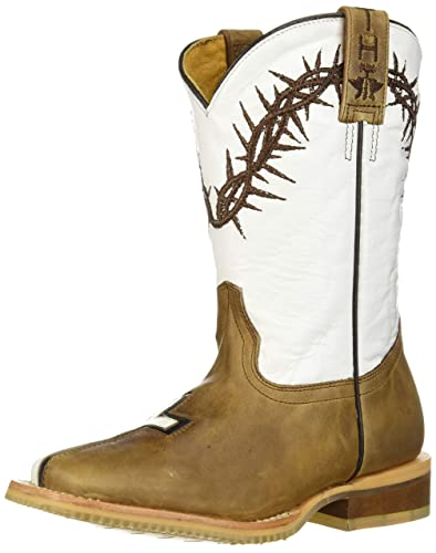 99f6bff8fbc Tin Haul Shoes Kids' Crosses Western Boot