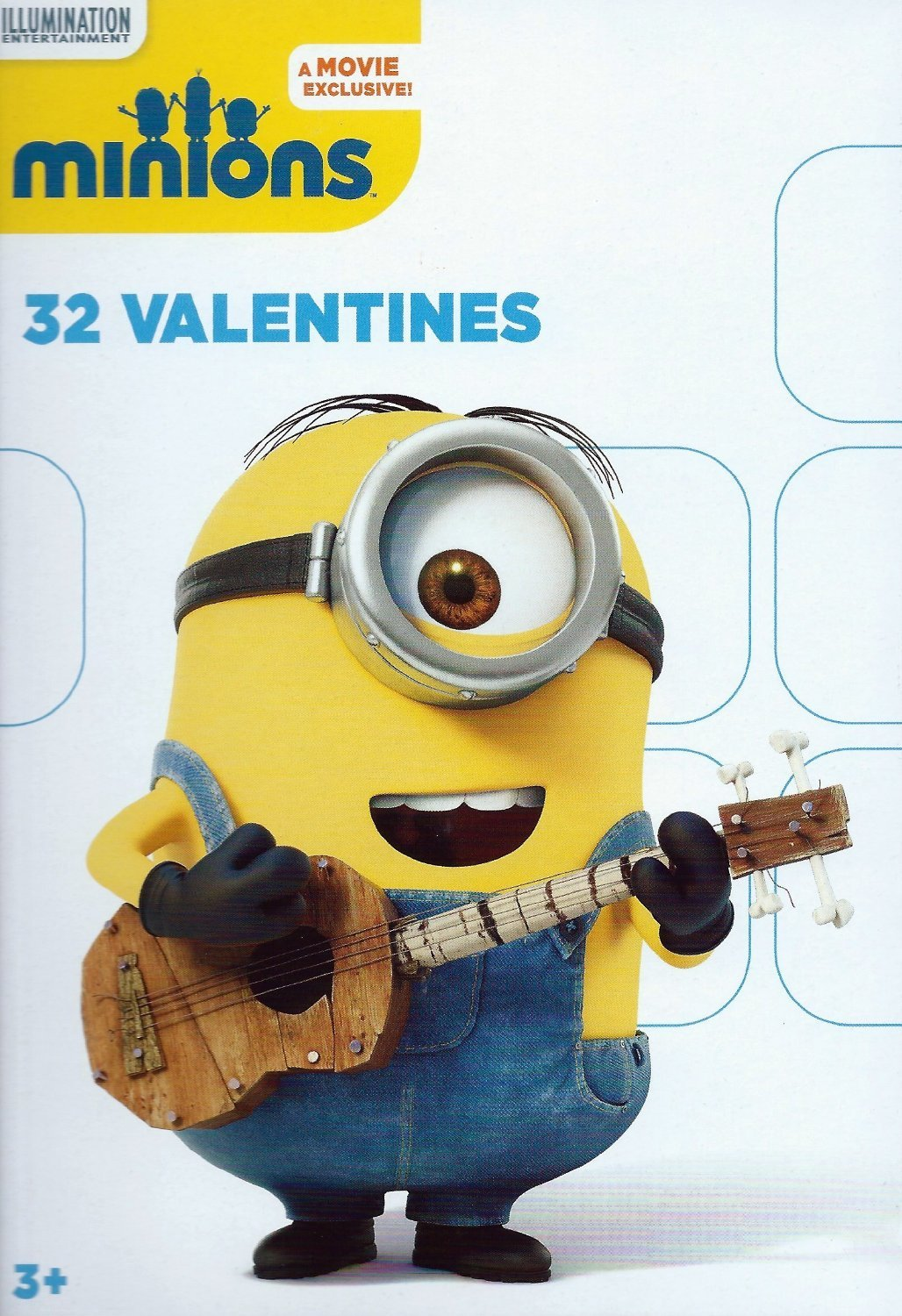 Amazoncom  Minions Box of 32 Valentines Cards  Office Products
