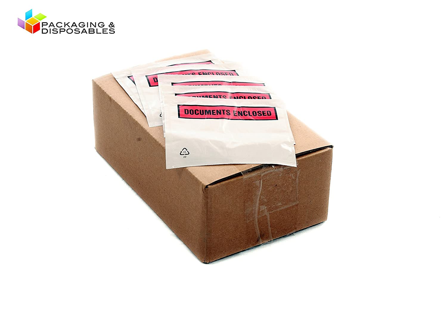 2000 Documents Enclosed Envelopes Wallets - A7 Size (PRINTED) PACKAGING AND DISPOSABLES