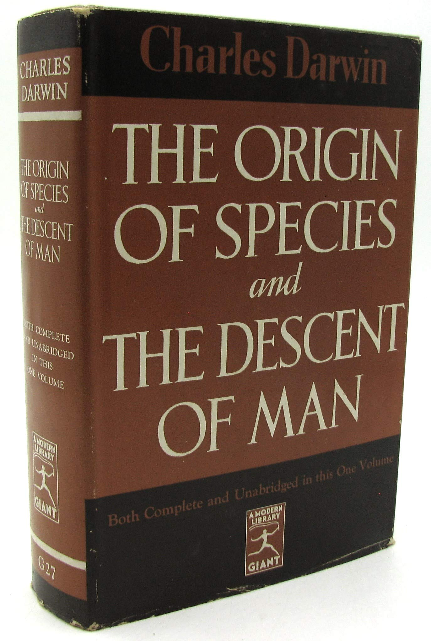 Origin Species Descent Modern Library product image