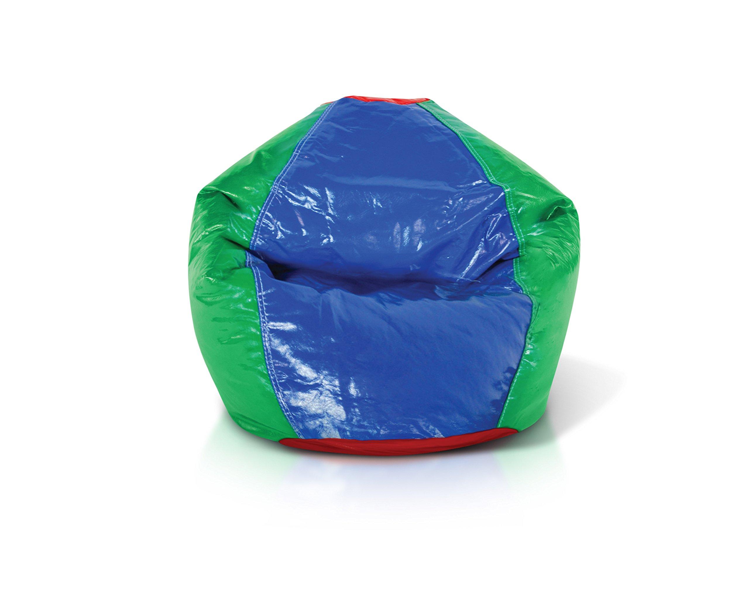 Milton Greens Stars Junior Glossy Vinyl Bean Bag, Multicolor by Milton Greens Stars