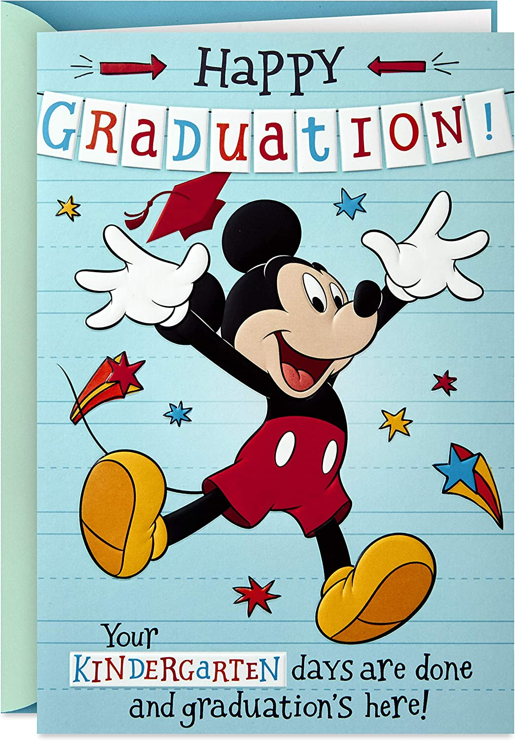 Hallmark Disney Graduation Card