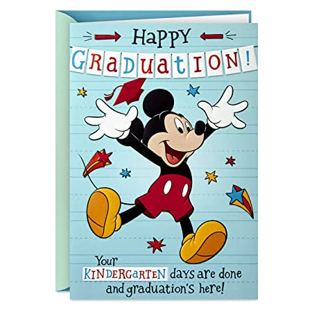 Hallmark Disney Kindergarten Graduation Card