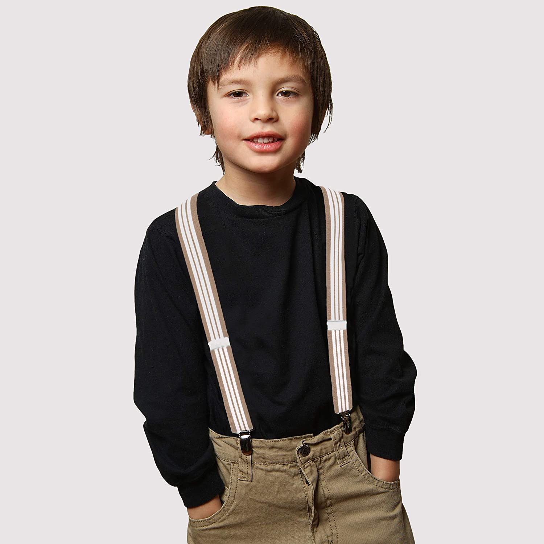 26 Purple Suspenders for Kids 1 Inch Suspender Perfect for Tuxedo