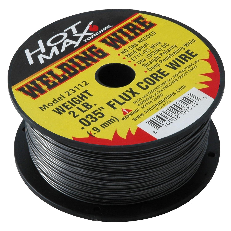Hot Max 23112 0.035-Inch E71T-GS Flux Core MIG Wire 2#
