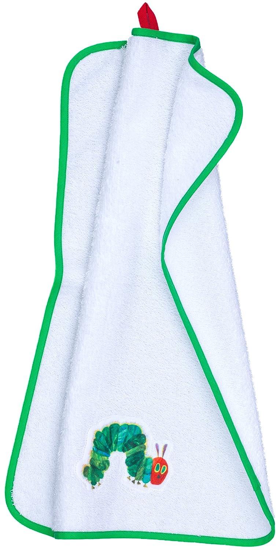 Smithy Fashion 1403035 Handtuch Raupe Nimmersatt, 50 x 100 cm, weiß weiß