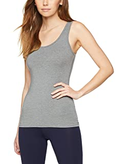 Iris & Lilly Camiseta Interior Térmica Ligera de Tirantes para Mujer, ...