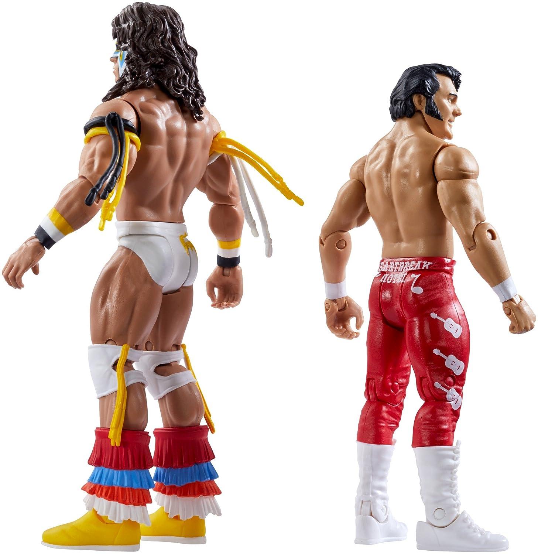 WWE SummerSlam Ultimate Warrior /& Honky Tonk Man Action Figure DXG58 2 Pack