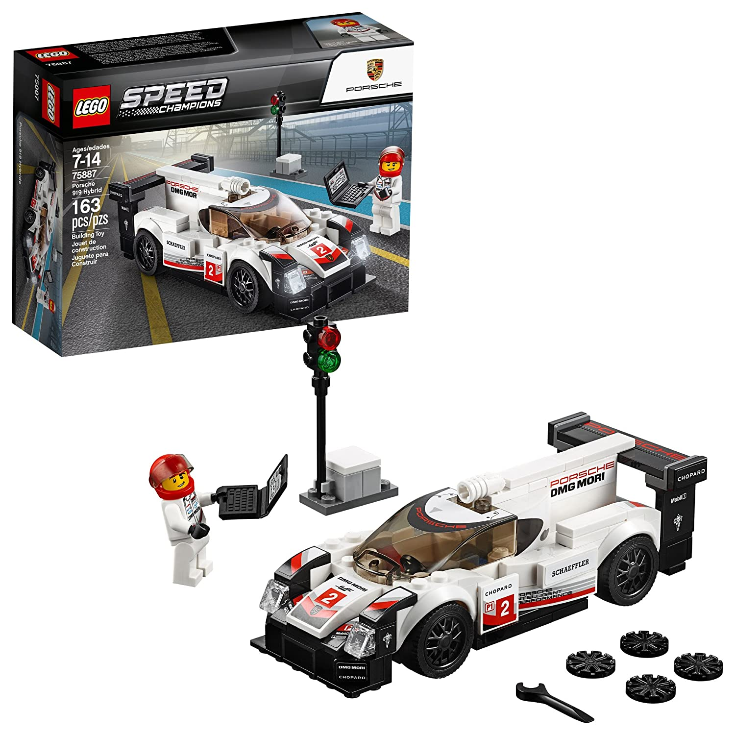 Lego Speed Champions Porsche 919 Hybrid Building Kit (163 Piece), Multi 6212618