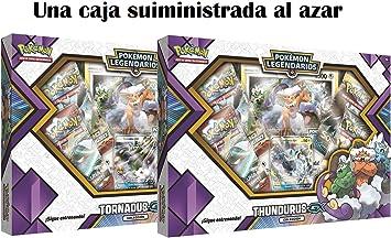 Pokemon JCC- Caja colección tornadus thundurus-gx-español ...