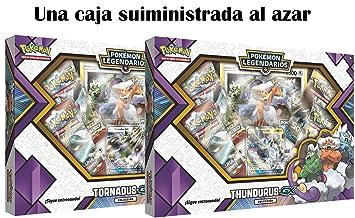 Pokemon JCC Caja colección tornadus thundurus-gx-español, Color (The Pokemon International Company POGX1807