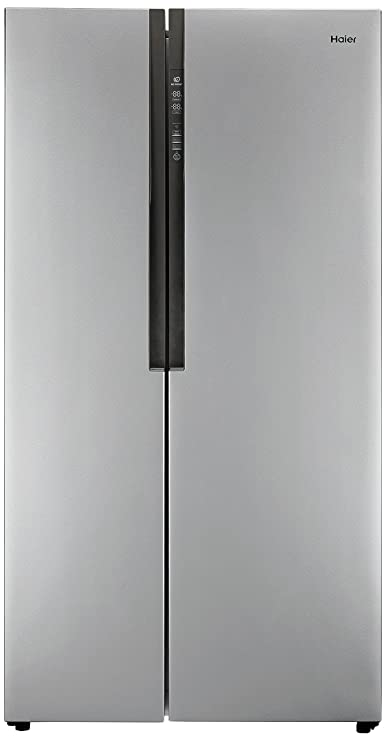 Haier HRF 618 SS Frost free Side by Side Refrigerator  565 Ltrs, Grey  Refrigerators