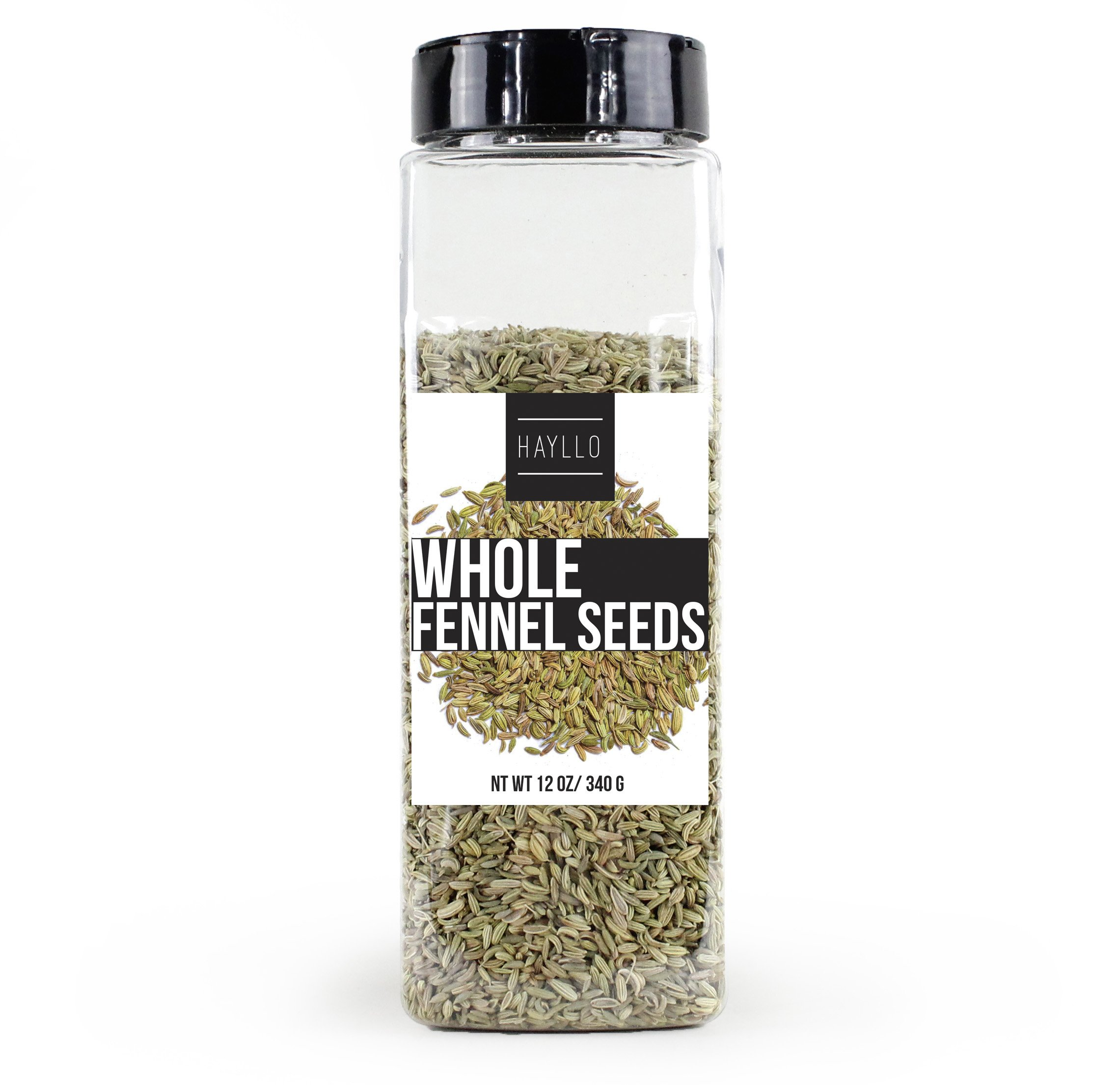 Hayllo Fennel Seed Whole , 12 Ounce