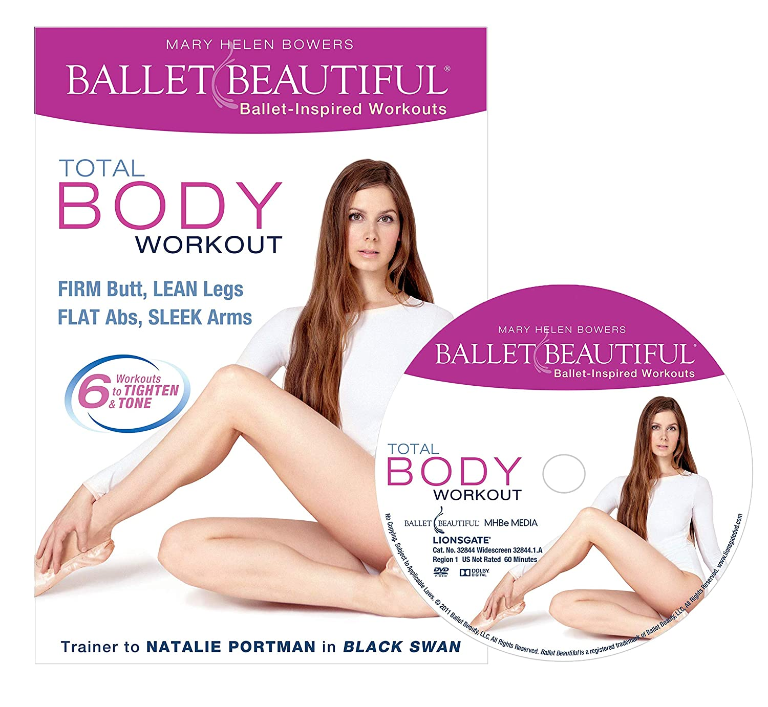 Amazon.com: Ballet Beautiful: Total Body Workout [DVD]: Mary Helen Bowers,  Kate Elson: Movies & TV