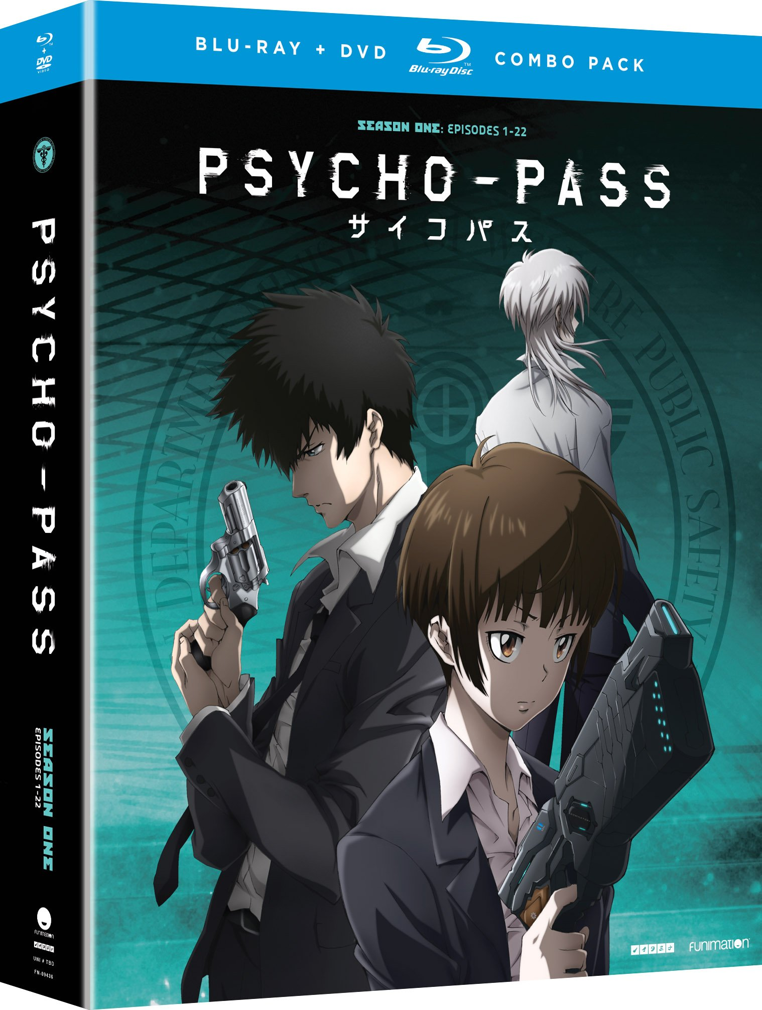 Blu-ray : Psycho-Pass - Season One (With DVD, Boxed Set, 8 Disc)