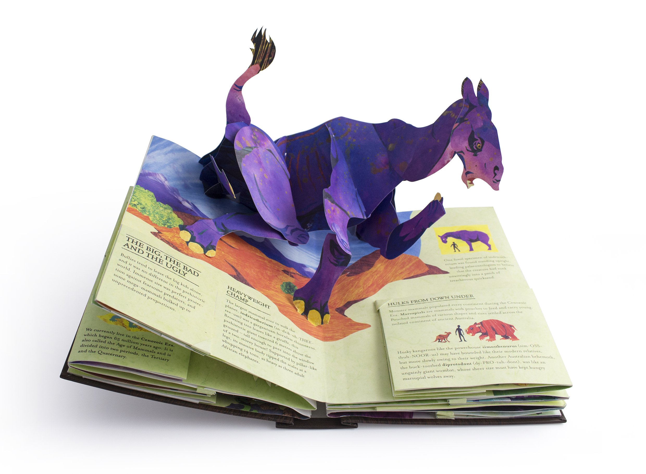 Encyclopedia Prehistorica Mega-Beasts by Walker Books Ltd (Image #3)