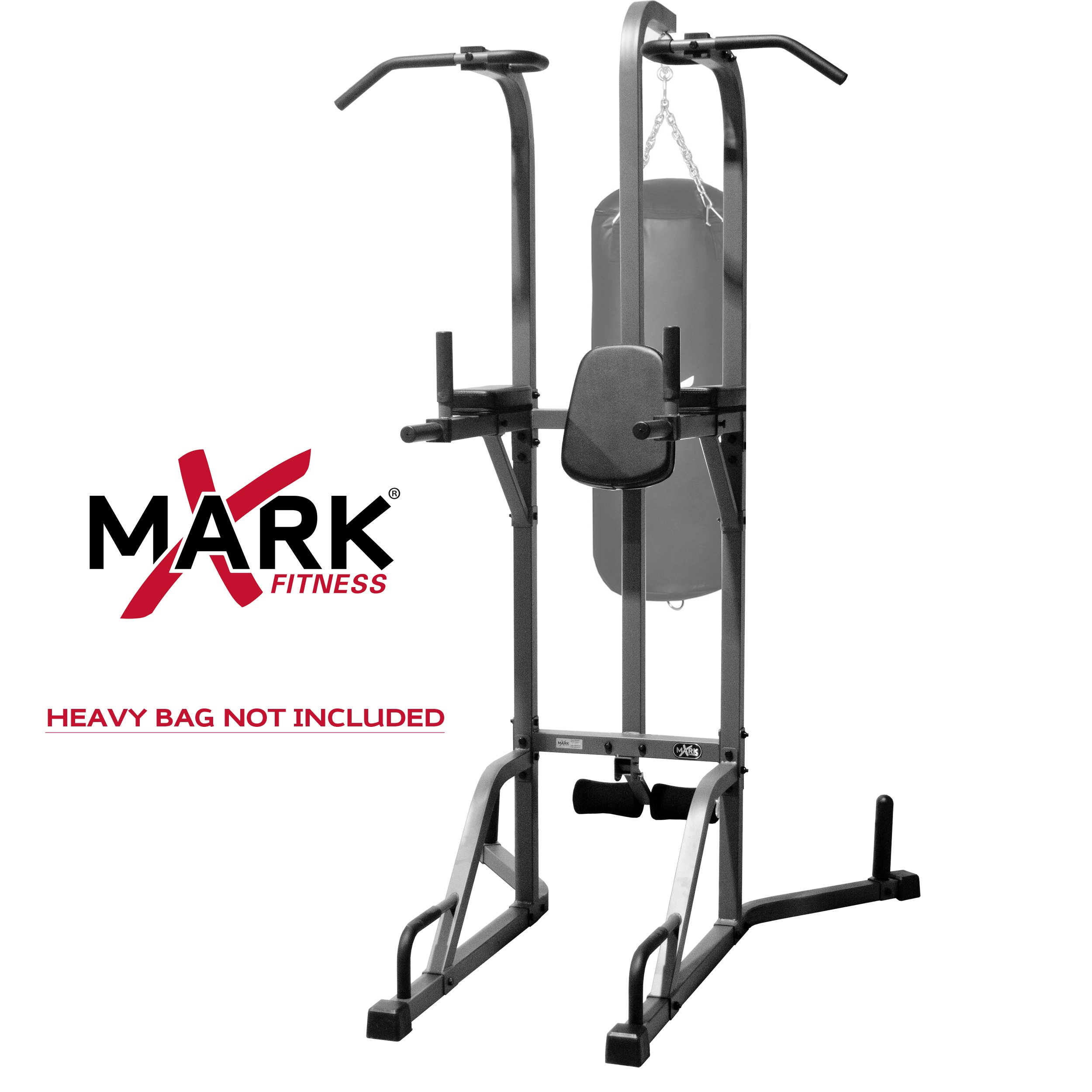 XMark Deluxe Power Tower and Heavy Bag Stand XM-2842 by XMark Fitness (Image #2)