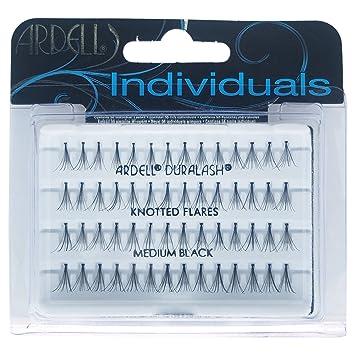 bb44b02b9b8 Amazon.com : Ardell Professional Individual Duralash Flares, Medium Black  56 individual lashes (Pack of 4) : Beauty