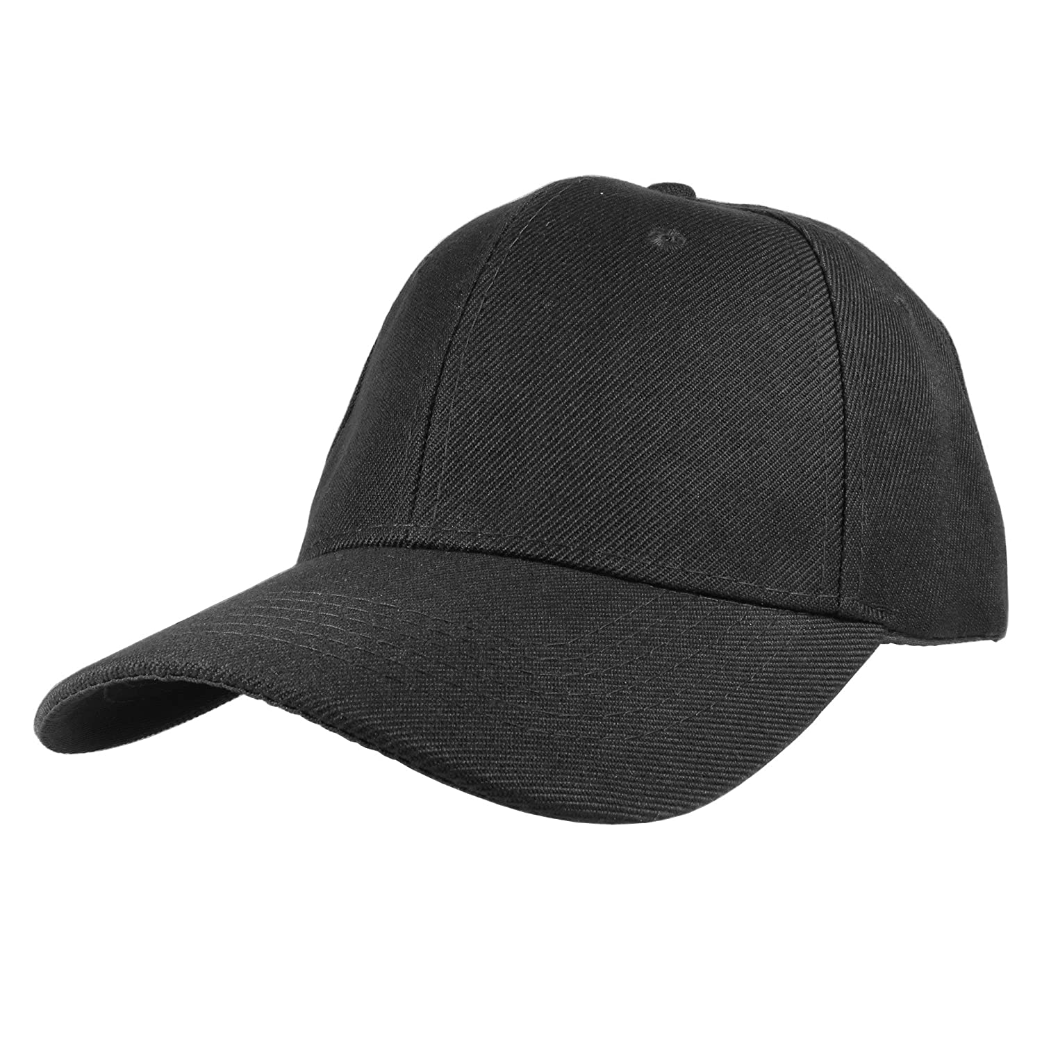 0b59569cff197 Gelante Plain Blank Baseball Caps Adjustable Back Strap Wholesale LOT 12  Pack- 001-Black at Amazon Men s Clothing store