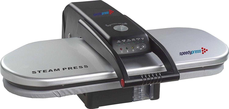 Prensa de Planchado a Vapor por Speedypress: PSP202S - Plata (+ Cubierta Adicional GRATIS y Espuma PVP 45,00 € )