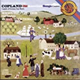 Copland: Old American Songs / Canticle Of Freedom / Four Motets ~ Tilson Thomas