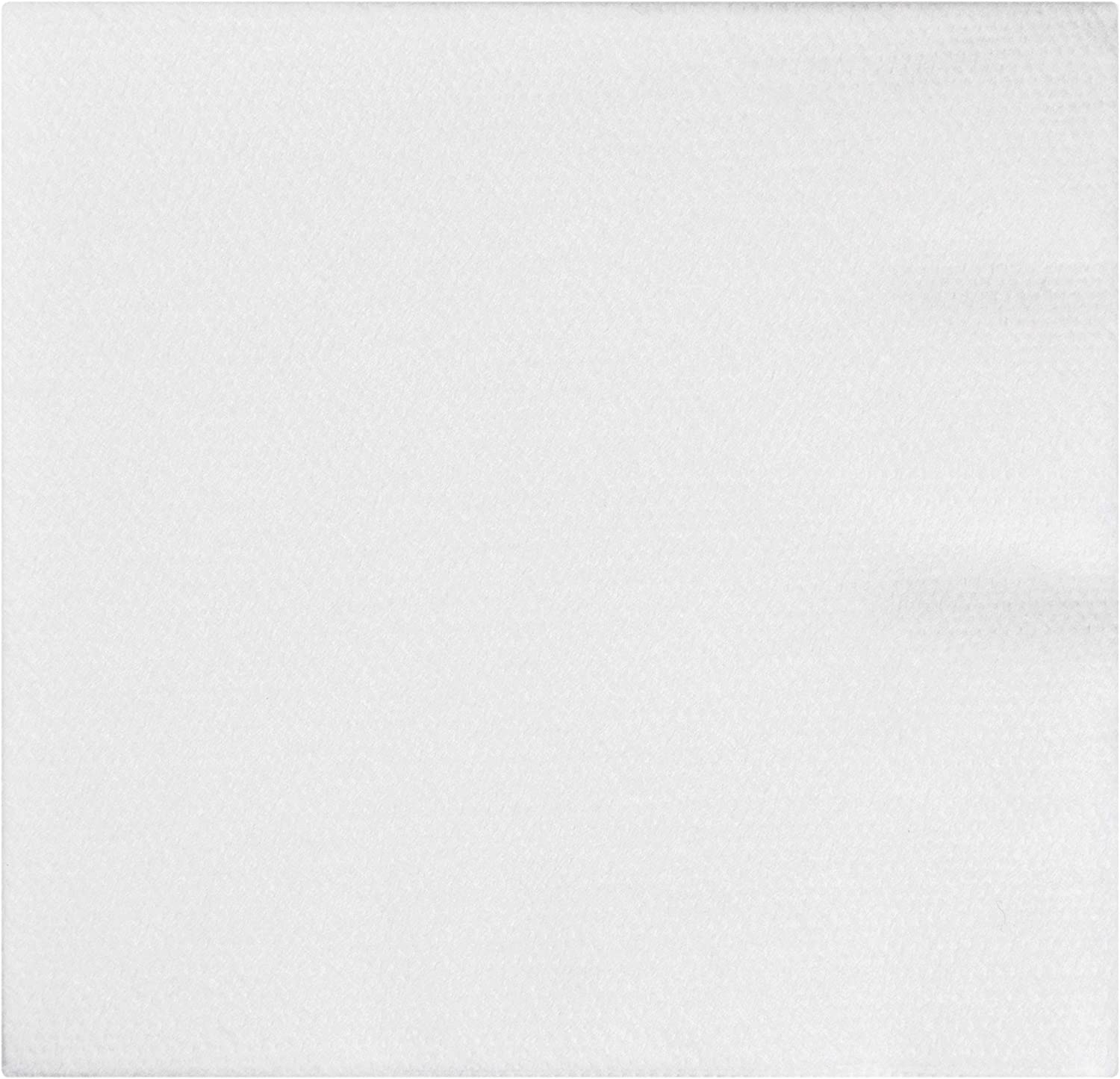 Creative Converting 613272 24 Count Form & Function Better Than Linen Beverage Napkins, Any, White