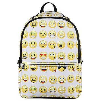 Hynes Eagle Printed Emoji Kids School Backpack (Emoji-White)  Amazon.in   Bags 08a63b9b474a7