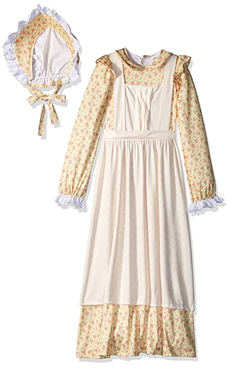 Victorian Kids Costumes & Shoes- Girls, Boys, Baby, Toddler Girls Prairie Girl Costume $59.99 AT vintagedancer.com