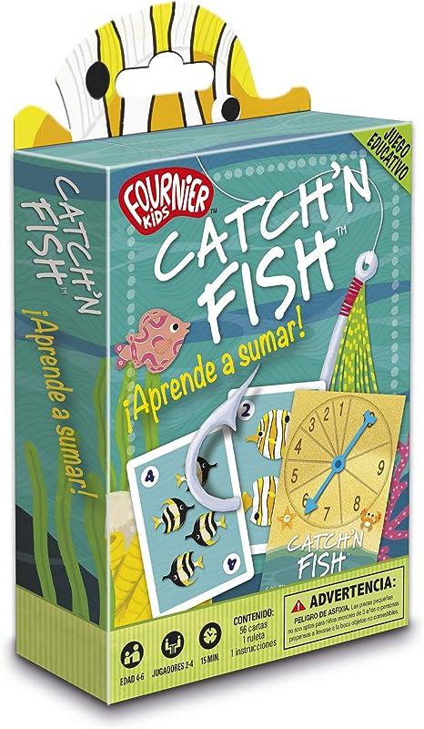 Fournier- Catch´n Fish. Aprende a Sumar Juego de Cartas Educativo ...