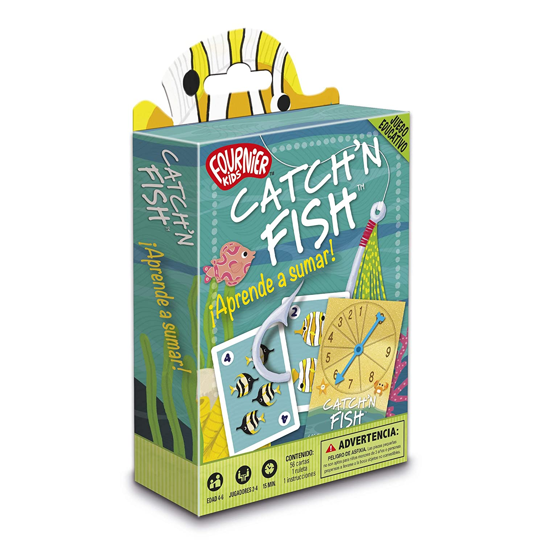 Fournier- CatchŽn Fish. Aprende a Sumar Juego de Cartas ...