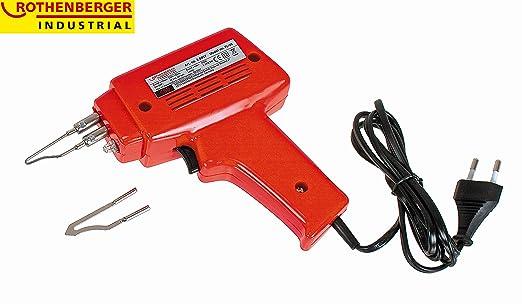 Rothenberger 35957 - Quick Pistola De Soldadura, 100 W, Rojo