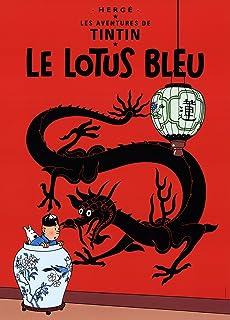 Herge-Les Aventures de Tintin: Le Lotus Bleu-Poster