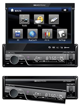 amazon com soundstream vir7830 7 inch flip up touch screen car Ford Car Radio Wire Diagrams wiring 7840 car diagram stereo soundstearm Vcr Wiring Diagram Car Audio Capacitor Wiring Diagram Kenwood Car Stereo Wiring Diagram