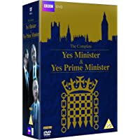 Yes Minister and Yes Prime Minister - Complete Collection [DVD] [1980] IMPORT