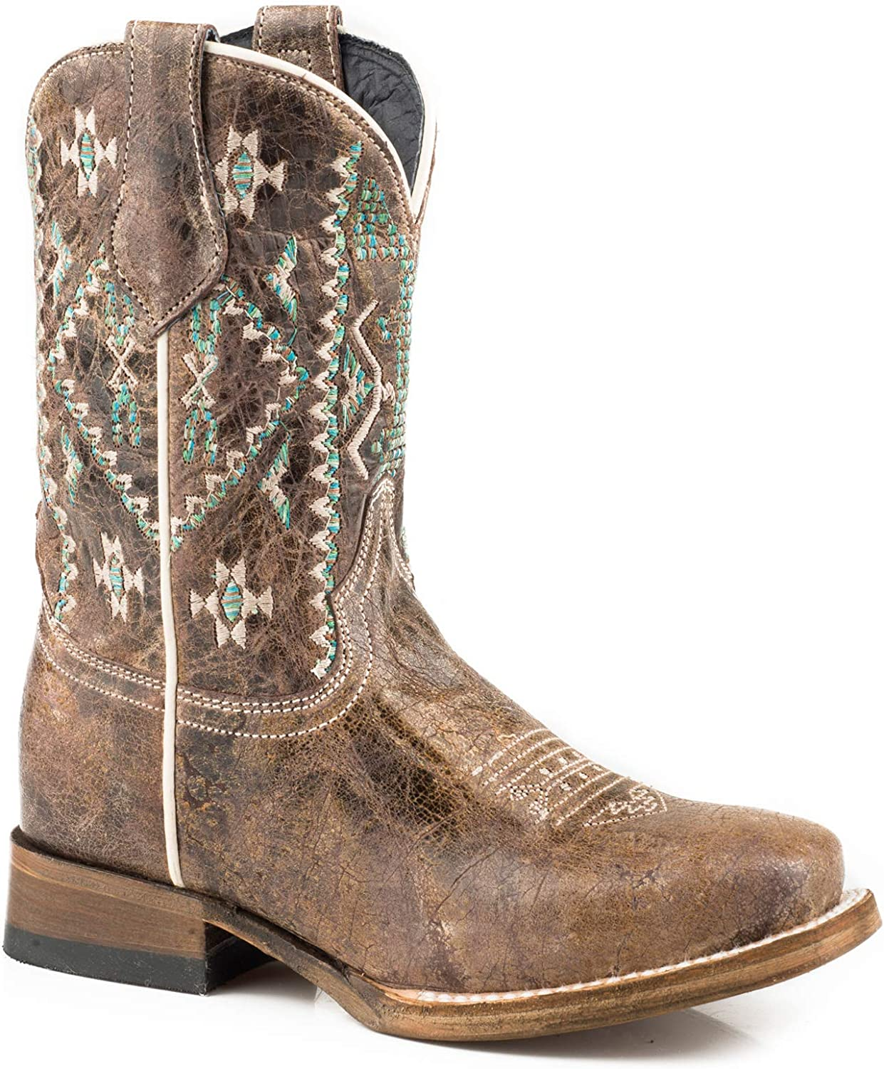 Roper Kids Out West Square Toe Boots