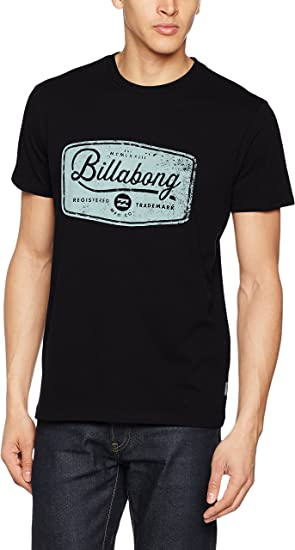 BILLABONG Pits Top tee SS Camiseta, Hombre, Negro, S: Amazon.es: Ropa y accesorios