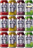 Polar Seltzer Variety Special! Black Cherry, Cranberry Lime, Lemon, Lime Flavor, 12 oz Can (3 x 4 Flavors, Total of 12 Cans
