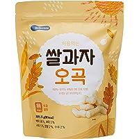 BeBecook Wise Moms Rice Snacks Grains Organic, 25g