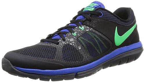 360bc78396282 Nike Flex 2014 Run MSL Men Laufschuhe black-poison green-lyon blue- anthracite