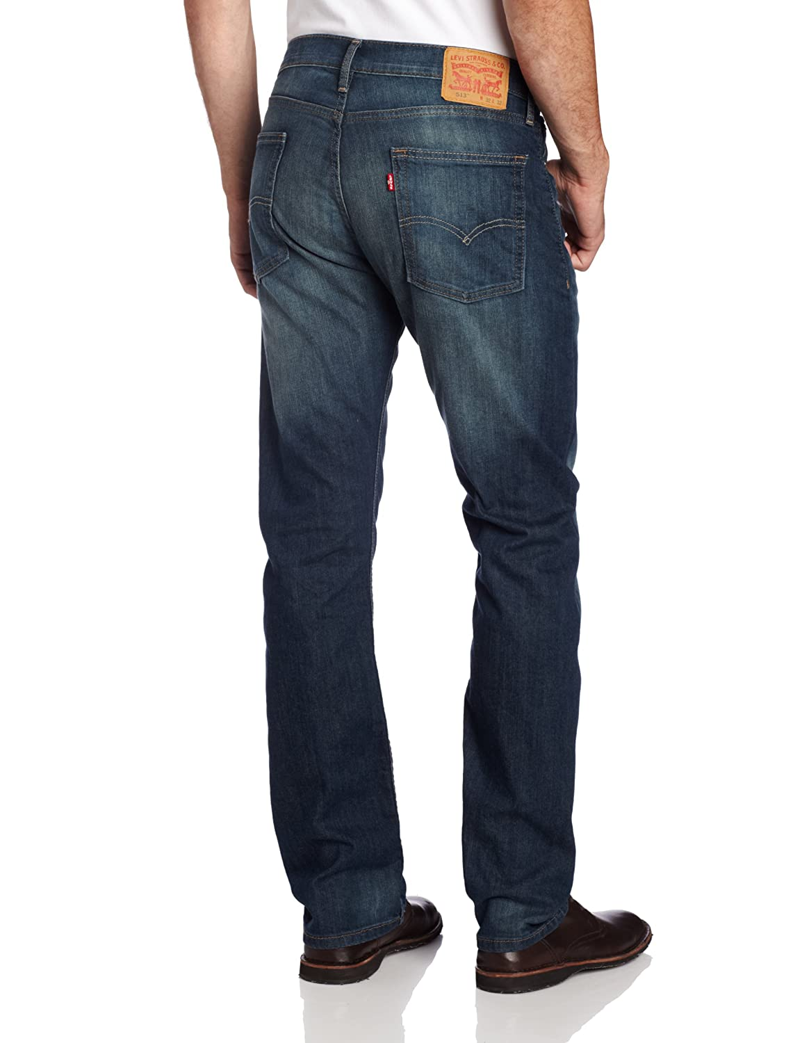 Levi's Men's 513 Stretch Slim Straight Jean at Amazon Men's ...