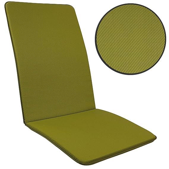 Proheim SET x4 Cojines Pisa para sillas de jardín exterior ...