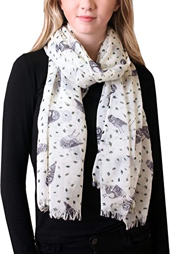 Meow Printing Scarf Warm Soft Fashion Scarf Shawl Kids Boys Girls