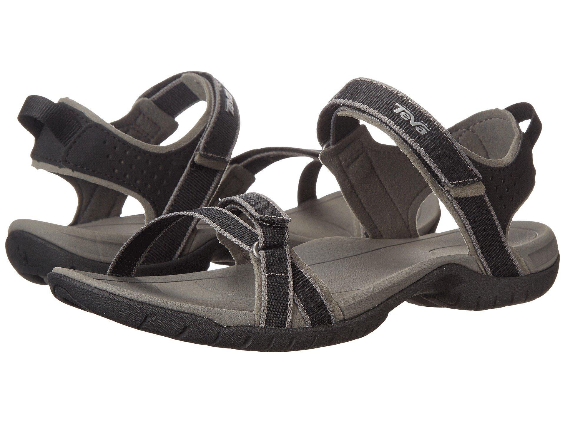 Teva Women's W Verra Sport Sandal, Black, 8 M US