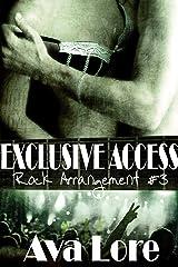 Exclusive Access (Rock Arrangement, #3) (Rock Star Erotic Romance) Kindle Edition