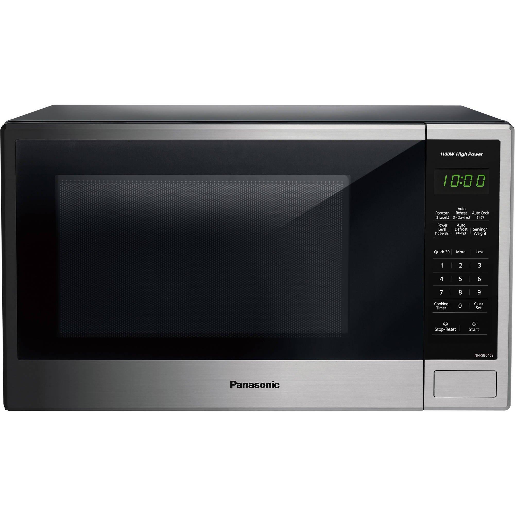 Panasonic Microwave Oven, Stainless(1.3 Cu Ft NN-SB646S)