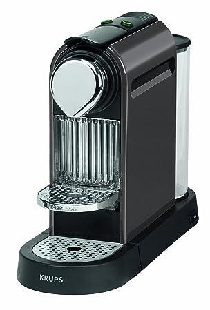 Krups Citiz - Cafetera Nespresso, 19 bares, 1260 W, depósito de agua de 1 litro, 16 cápsulas de degustación: Amazon.es: Hogar