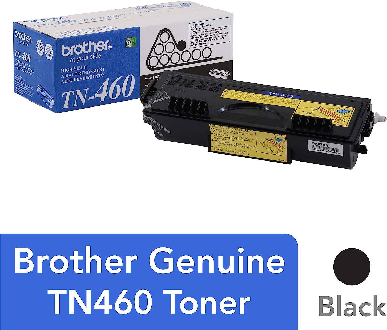 B00004SDB1 Brother TN-460 DCP-1200 1400 FAX-4750 5750 8350 HL-1030 P2500 MFC-8300 8500 Toner Cartridge (Black) in Retail Packaging 81t3lLh8KvL.SL1500_