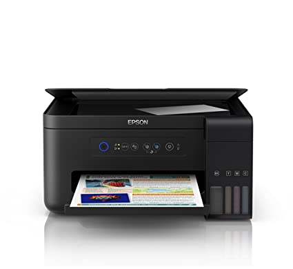Epson EcoTank ET-2700 | Impresora Wi-Fi A4 Multifunción | Copia/Escaneado/Impresión | Velocidad 33ppm | Resolución 5760x1440ppp | Rendimiento Botellas ...