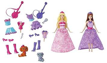 Barbie X3693  Die Prinzessin und der Popstar Mini Spielset